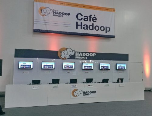 Conference Exhibit Hadoop Dev Cafe2