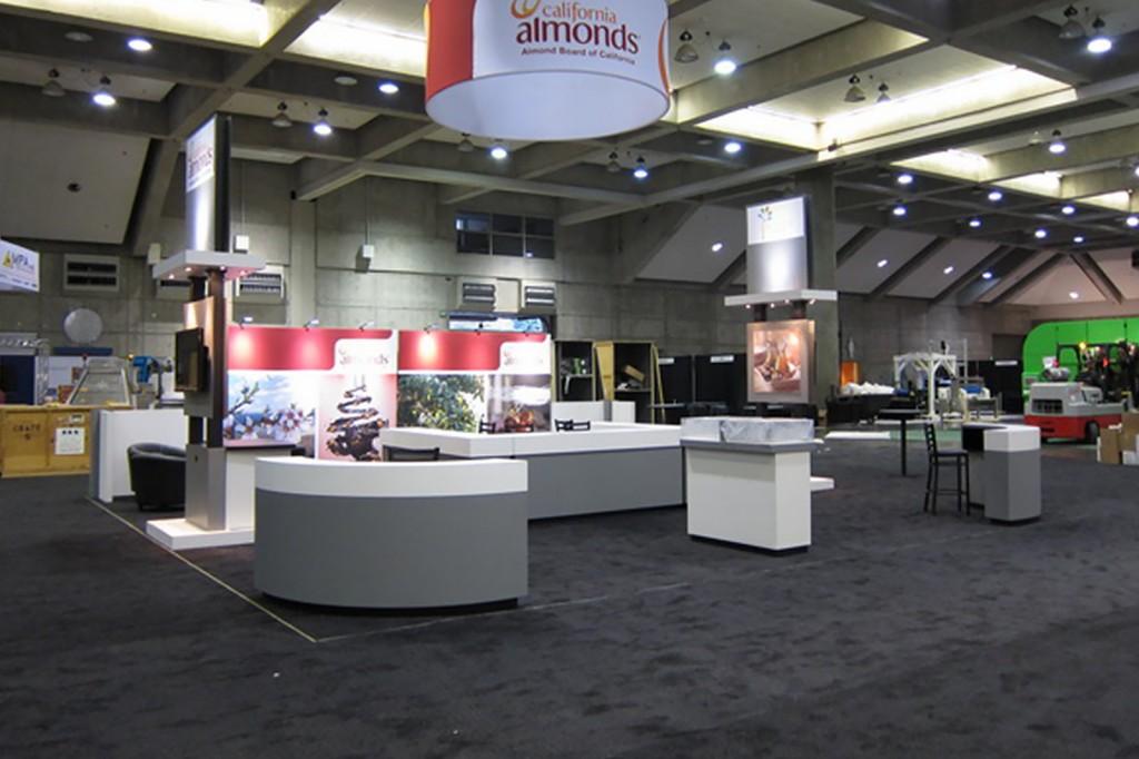 Island Exhibit Almond Board 30×30